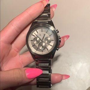 Men's Armani exchange wrist watch